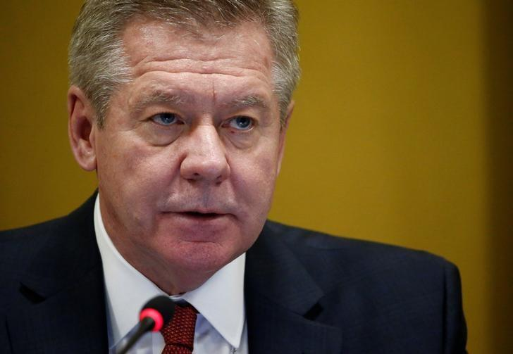 Russian Deputy Minister of Foreign Affairs Gennady Gatilov addresses the Conference on Disarmament at the United Nations in Geneva, Switzerland February 28, 2017. REUTERS/Denis Balibouse/Files