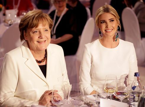 Ivanka Trump on the world stage