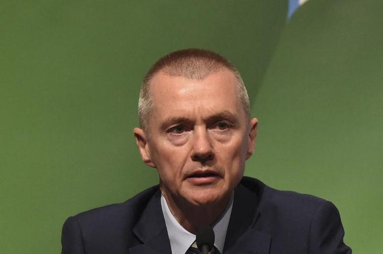 Willie Walsh, CEO of International Airlines Group in Dublin, Ireland June 3, 2016. REUTERS/Clodagh Kilcoyne