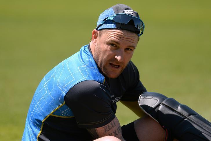 Cricket - New Zealand Nets - Kia Oval - 11/6/15New Zealand's Brendon McCullum during netsAction Images via Reuters / Philip BrownLivepic/File Photo
