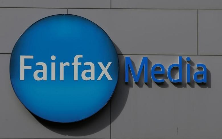 The Fairfax Media logo is pictured on the company's headquarters in Sydney, Australia, May 3, 2017. REUTERS/Jason Reed