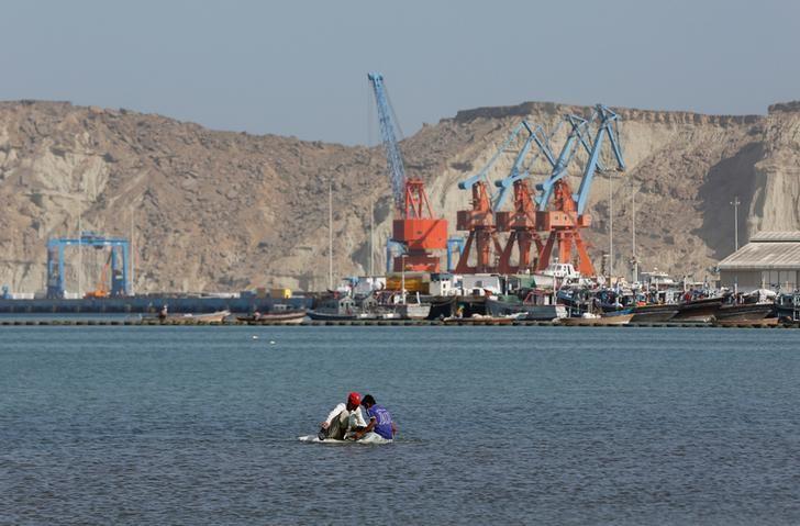 资料图片:2017年4月,巴基斯坦瓜达尔港。REUTERS/Akhtar Soomro