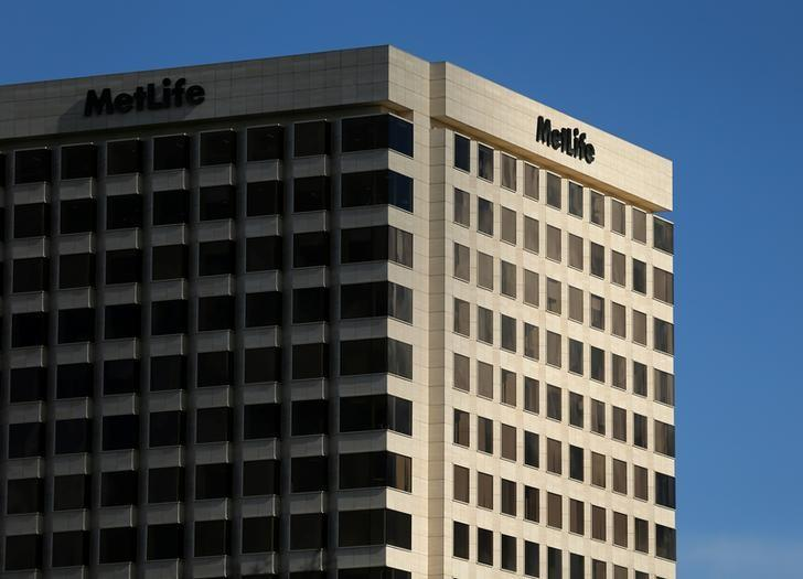 A MetLife Inc  building is shown in Irvine, California, U.S., January 24, 2017.   REUTERS/Mike Blake