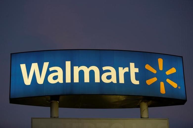 A logo of Walmart is seen in one of the stores in Monterrey, Mexico November 28, 2016. REUTERS/Daniel Becerril/File Photo