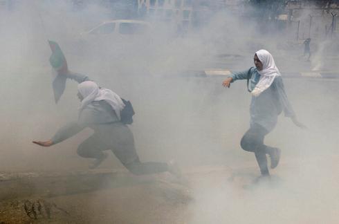 Palestinians protest on Nakba anniversary