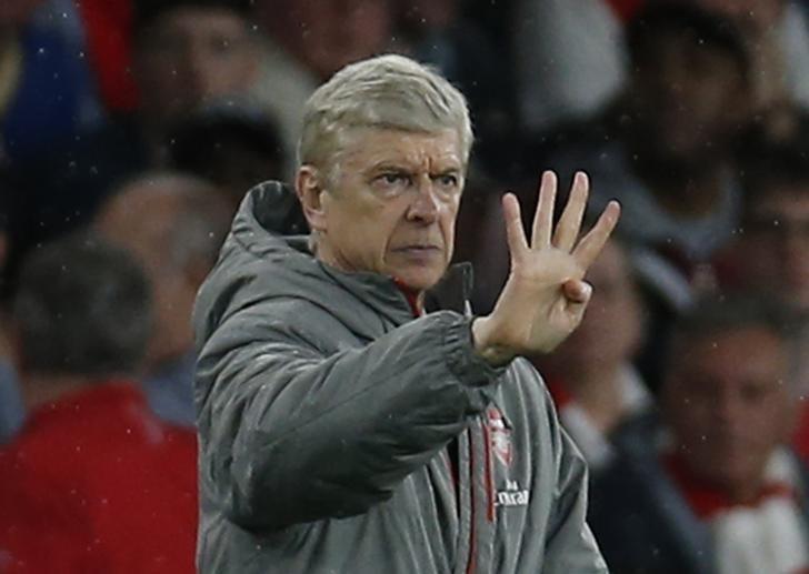 Britain Football Soccer - Arsenal v Sunderland - Premier League - Emirates Stadium - 16/5/17 Arsenal manager Arsene Wenger   Action Images via Reuters / Paul Childs Livepic