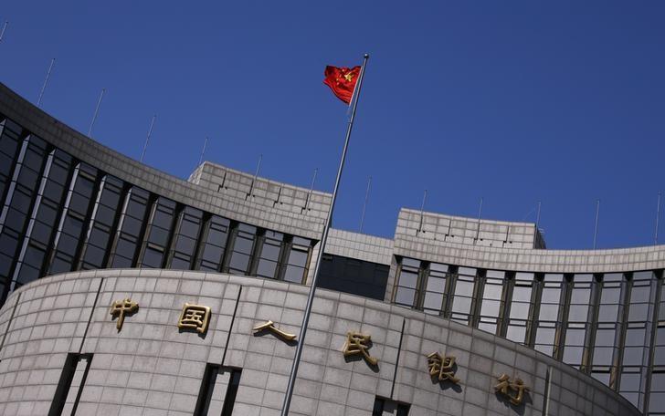 资料图片:2014年4月,中国北京,中国央行总部。 REUTERS/Petar Kujundzic