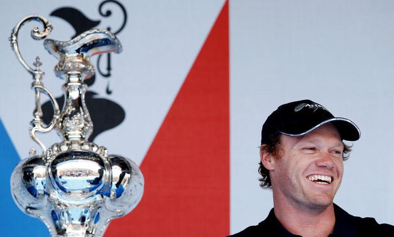 FILE PHOTO: Sailing - The America's Cup - Portsmouth - 23/7/15Nathan Outteridge skipper of Sweden's Artemis Racing takes part in a public press conferenceReuters / Andrew Yates /File PhotoLivepic