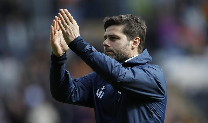Britain Football Soccer - Hull City v Tottenham Hotspur - Premier League - The Kingston Communications Stadium - 21/5/17 Tottenham manager Mauricio Pochettino after the match Action Images via Reuters / Lee Smith/ Livepic/ Files