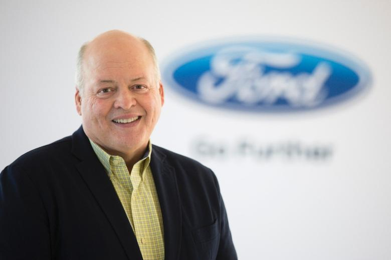 New Ford CEO Jim Hackett.    REUTERS/Courtesy Ford Motor Compnay