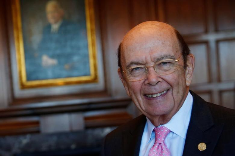 U.S. Commerce Secretary Wilbur Ross sits for a portrait after an interview in his office in Washington, U.S. May 9, 2017.  REUTERS/Jonathan Ernst