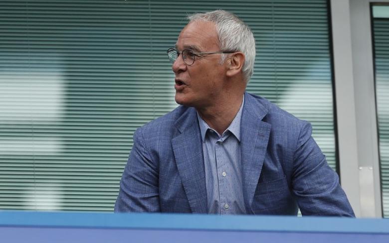 Britain Football Soccer - Chelsea v Sunderland - Premier League - Stamford Bridge - 21/5/17 Claudio Ranieri in the stands Action Images via Reuters / John Sibley