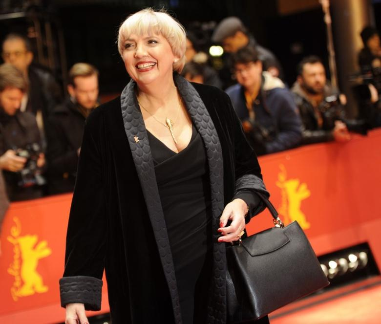 File Picture - German Bundestag vice-president Claudia Roth arrives for the awards ceremony of the 67th Berlinale International Film Festival in Berlin, Germany February 18, 2017. REUTERS/Stefanie Loos