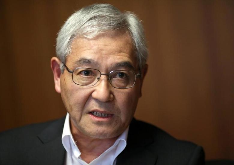 Bank of Japan's (BOJ) board member Makoto Sakurai speaks during an interview with Reuters at the BOJ headquarters in Tokyo, Japan, September 1, 2016.    REUTERS/Toru Hanai