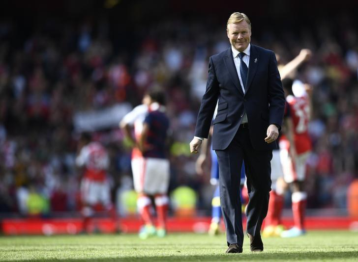 Britain Football Soccer - Arsenal v Everton - Premier League - Emirates Stadium - 21/5/17 Everton manager Ronald Koeman after the game Reuters / Dylan Martinez/ Livepic / Files