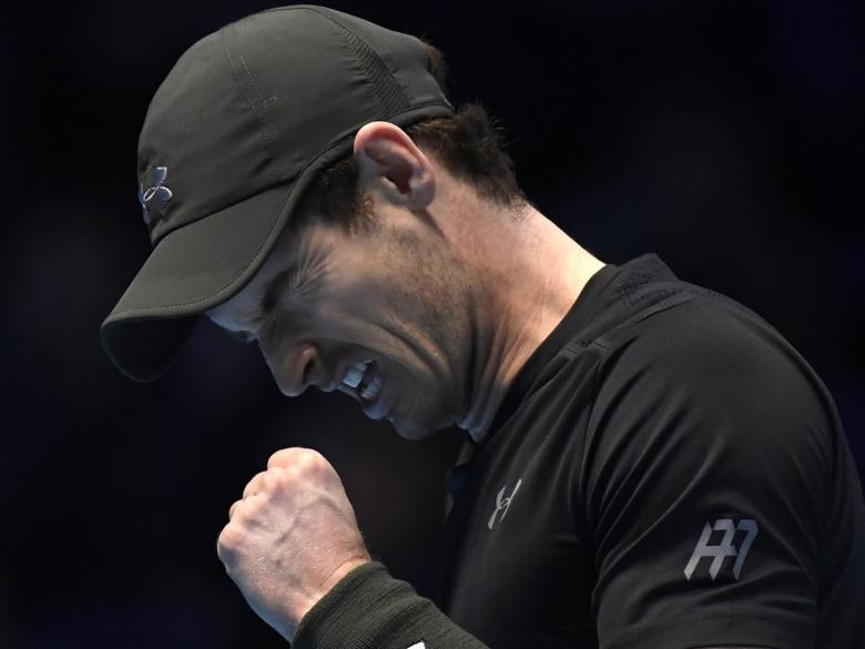 FILE PHOTO - Britain Tennis - Barclays ATP World Tour Finals - O2 Arena, London - 19/11/16 Great Britain's Andy Murray looks dejected during his semi final match against Canada's Milos Raonic Reuters / Toby Melville Livepic