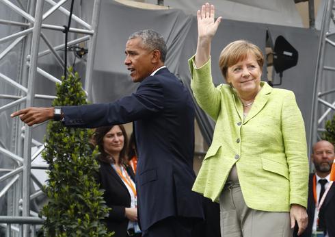 Obama and Merkel reunite
