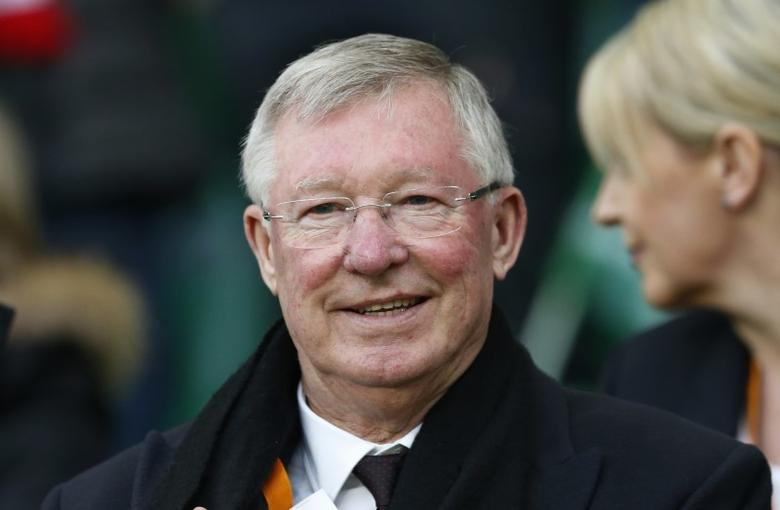 Soccer Football - Saint-Etienne v Manchester United - UEFA Europa League Round of 32 Second Leg - Stade Geoffroy-Guichard, Saint-Etienne, France - 22/2/17 Sir Alex Ferguson in the stands Action Images via Reuters / Andrew Boyers