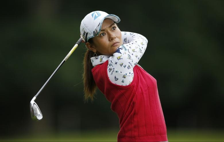 Britain Golf - RICOH Women's British Open 2016 - Woburn Golf & Country Club, England - 28/7/16 Japan's Ai Miyazato during the first round Action Images via Reuters / Andrew Couldridge Livepic