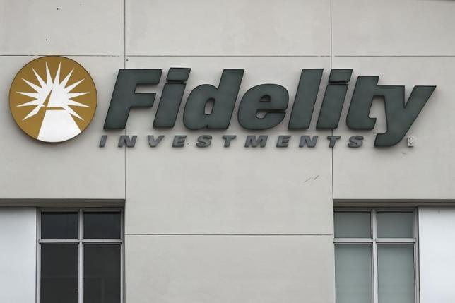 A Fidelity Investments store logo is pictured on a building in Boca Raton, Florida March 19, 2016. REUTERS/Carlo Allegri
