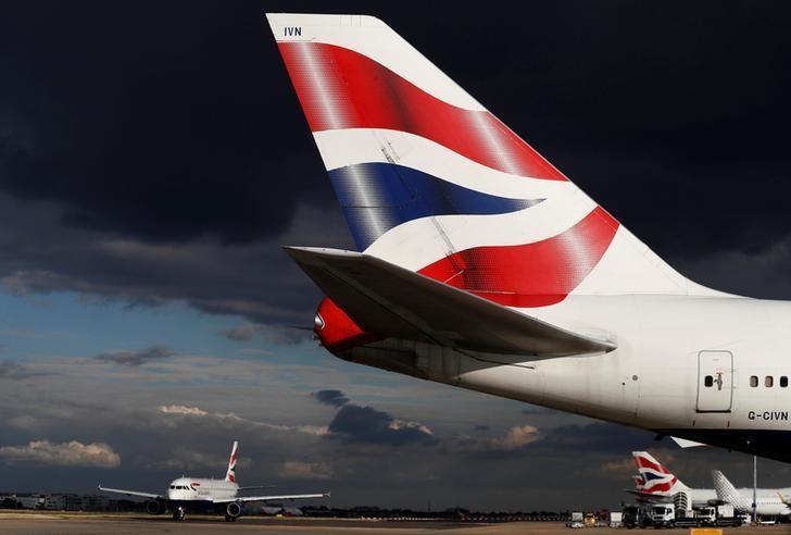 British Airways aircraft taxi at Heathrow Airport near London, Britain October 11, 2016. REUTERS/Stefan Wermuth/Files