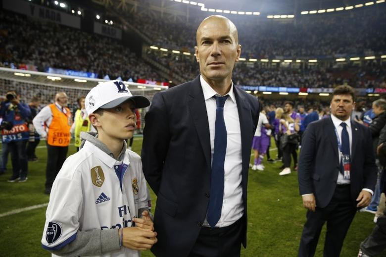 Britain Soccer Football - Juventus v Real Madrid - UEFA Champions League Final - The National Stadium of Wales, Cardiff - June 3, 2017 Real Madrid coach Zinedine Zidane after the match  Reuters / John Sibley Livepic