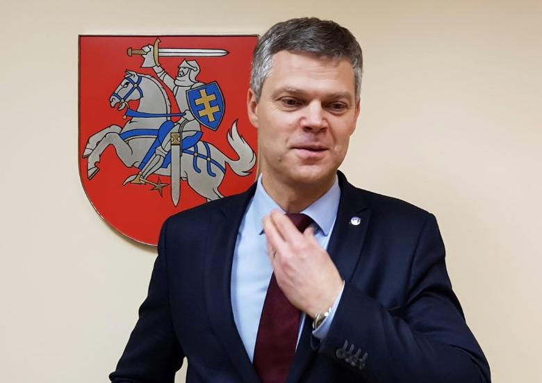 Lithuania's State Security Department director Darius Jauniskis poses for a picture  in Vilnius, Lithuania, November 29, 2016. Picture taken November 29, 2016. REUTERS/Andrius Sytas