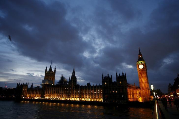 FILE PHOTO: The Houses of Parliament are seen at dusk in London, Britain, December 2, 2015.  To match Insight BRITAIN-ELECTION/TIGHT    REUTERS/Peter Nicholls/File Photo