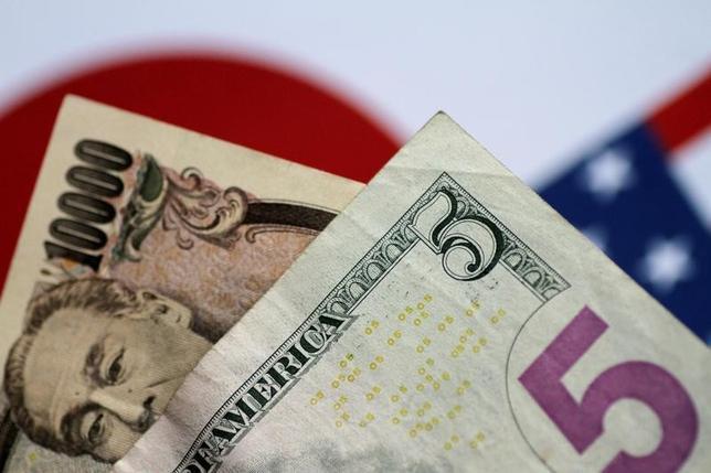 6月7日、午後3時のドル/円は、ニューヨーク市場午後5時時点に比べ、ややドル高/円安の109.51/53円だった。8日に予定される英総選挙やコミー米連邦捜査局(FBI)前長官の公聴会、欧州中央銀行(ECB)理事会などのイベントを前に、様子見ムードが強まった。写真は2日撮影(2017年 ロイター/Thomas White)