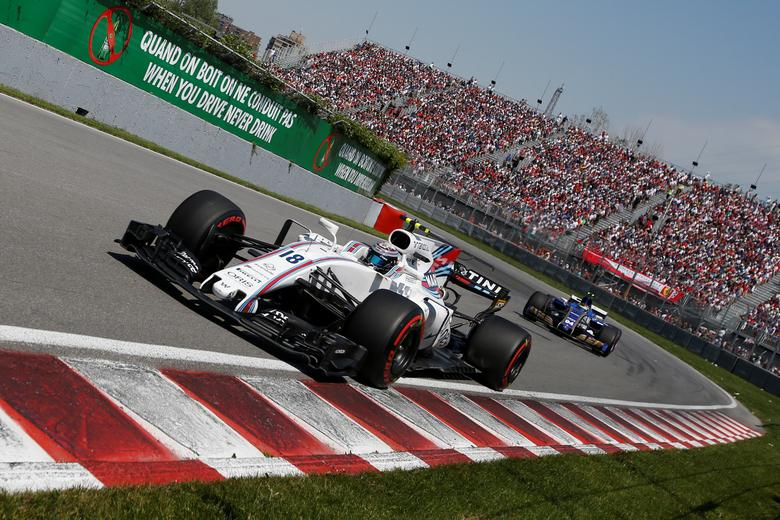 Formula One - F1 - Canadian Grand Prix - Montreal, Quebec, Canada - 11/06/2017 - Williams' Lance Stroll in action during the race. REUTERS/Chris Wattie