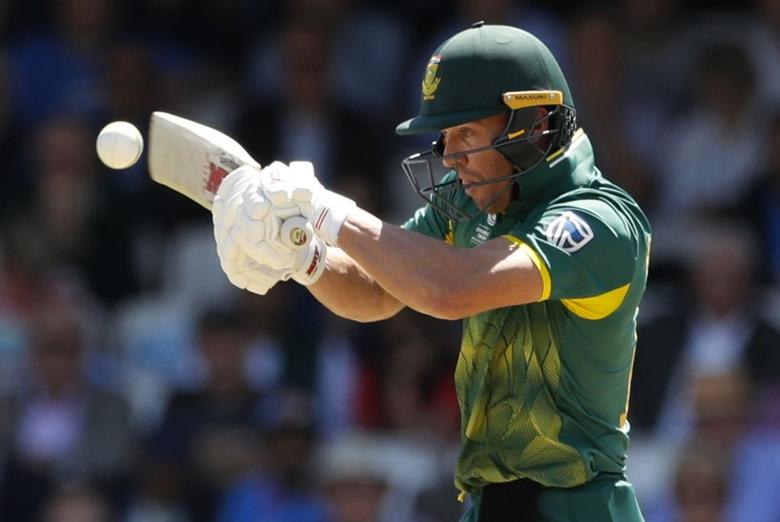 Britain Cricket - India v South Africa - 2017 ICC Champions Trophy Group B - The Oval - June 11, 2017 South Africa's AB De Villiers in action Action Images via Reuters / John Sibley Livepic
