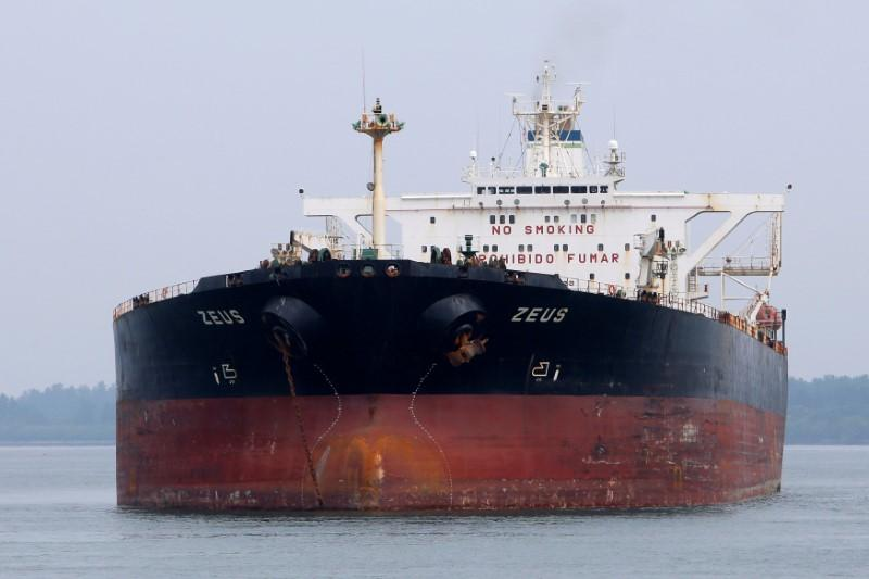 In latest sign of crude glut, aging supertankers used to