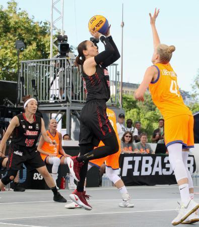 バスケ、日本は2戦終え1勝1敗