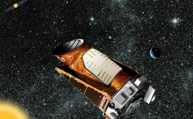 FILE PHOTO: An artist's composite of the Kepler telescope is seen in this undated NASA handout image.   REUTERS/NASA/Handout/File Photo via Reuters