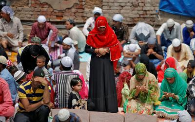 Last Friday of Ramadan in India