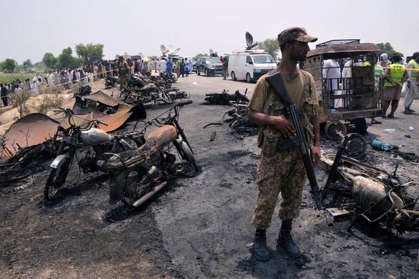 Burn victims overwhelm Pakistani hospitals after tanker fire kills 146
