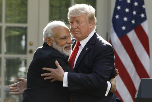 Trump meets Modi