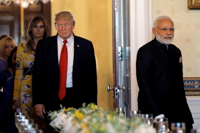 Trump, Modi call North Korea's 'grave threat' to peace - White House