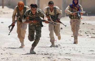 Closing in on Raqqa