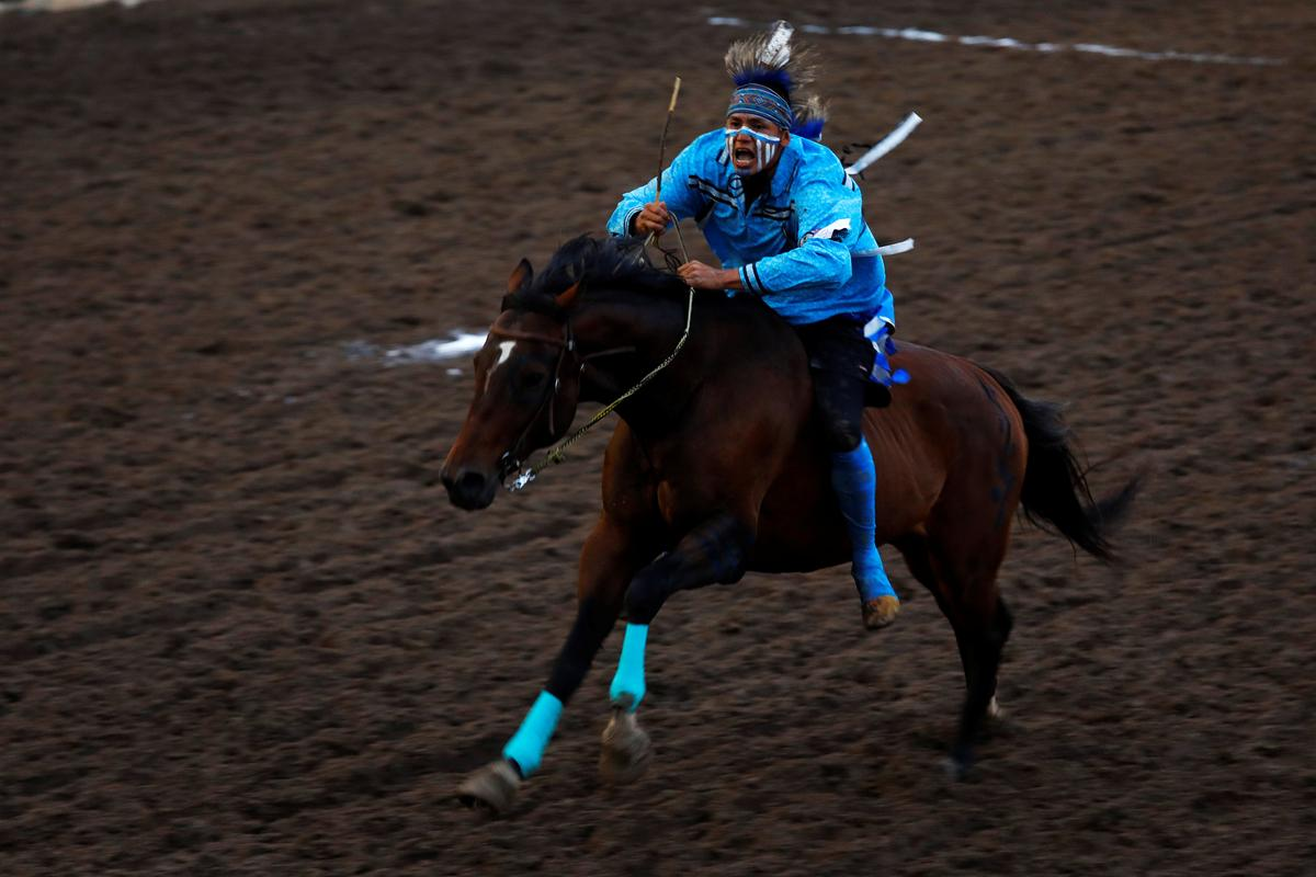 Montana Team Wins Indigenous Relay At Calgary Stampede