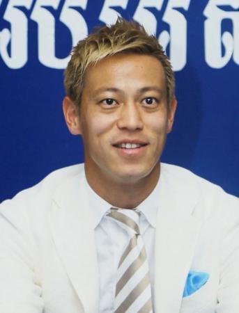 サッカー本田がメキシコに移籍