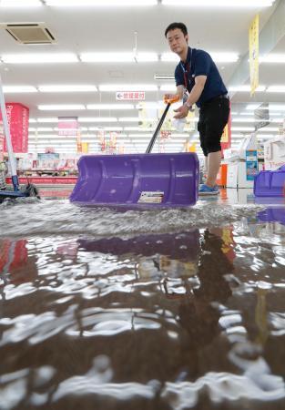 北海道、東北で大雨