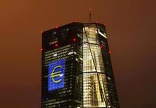 البنك المركزي الأوروبي في فرانكفورت. أرشيف رويترز