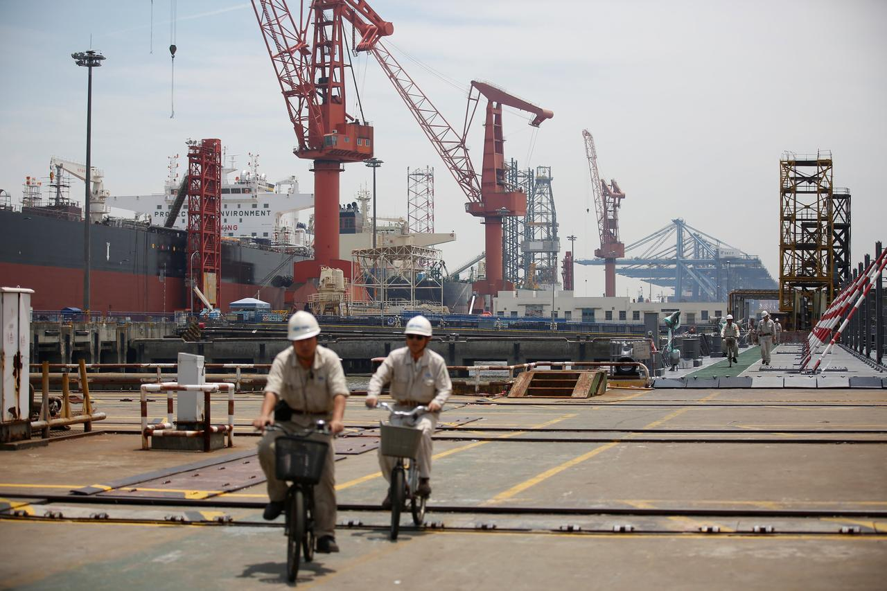 Chinese Shipbuilders Tap Rising Cruise Demand Rattle European Rivals - Cruise ship builders