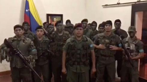Venezuela quells attack on military base