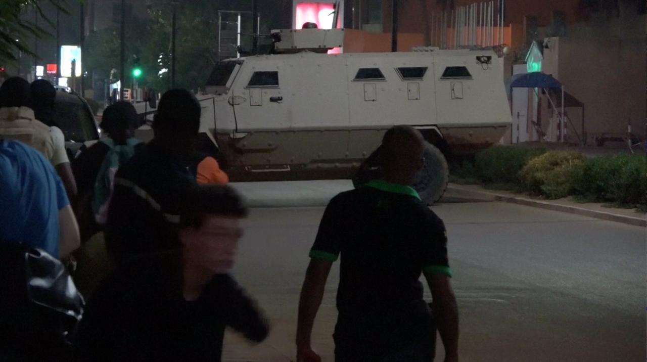 Image result for 20 killed as gunmen fire at restaurant in Ouagadougou