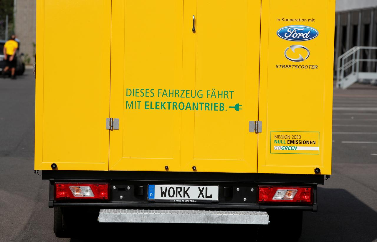 49c8453df3 Deutsche Post open to more electric van projects with Ford - Reuters