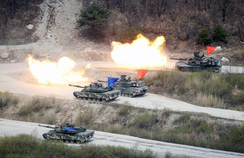 US says joint South Korea war games not on the negotiating table