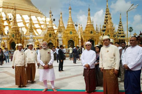 Modi visits Myanmar
