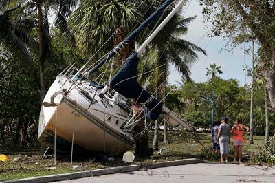 Hurricane Irma slams Florida